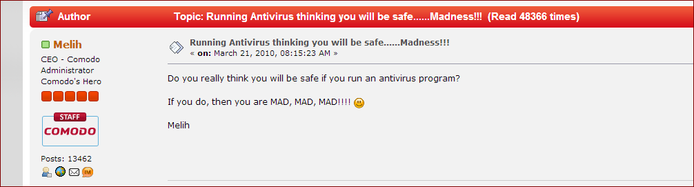 traditional antivirus is dead